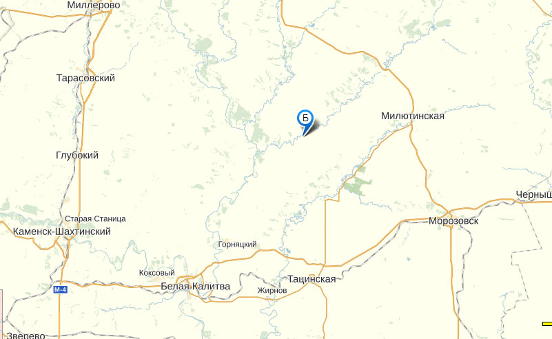 х. Марьевка на карте