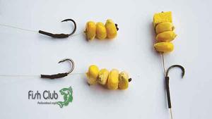 Способы заживления кукурузы на крючок для ловли карпа