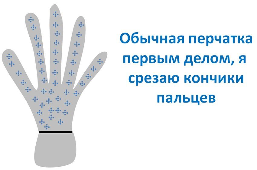 перчатки для ловли рыбы